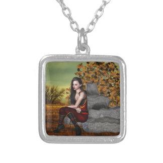 Elf Contemplation Custom Necklace