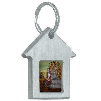 Elf Contemplation Pet Name Tag