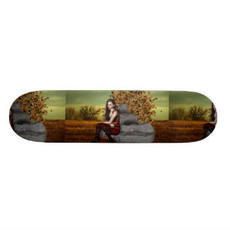 Elf Contemplation Skateboard Deck