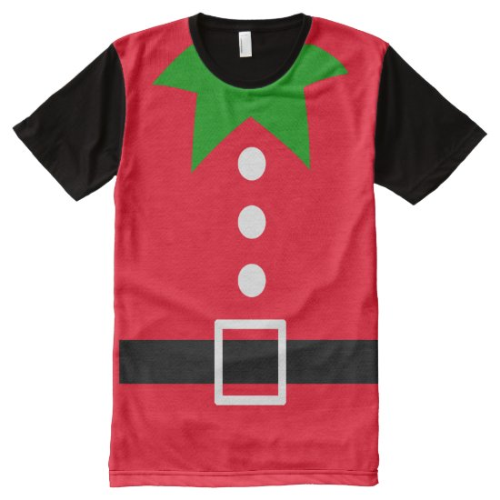 elf costume All-Over-Print T-Shirt