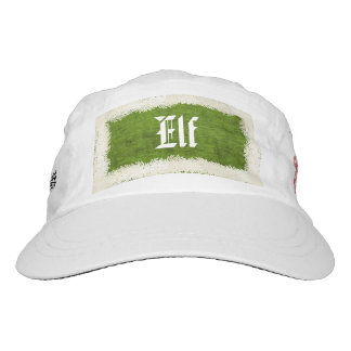 "Elf Costume ""Smiling's my favorite"" Quote Hat"