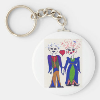 Elf Couble in Love #2 Keychain