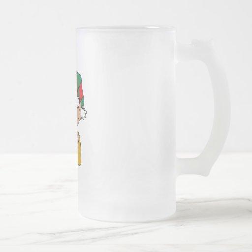Elf & doll mug
