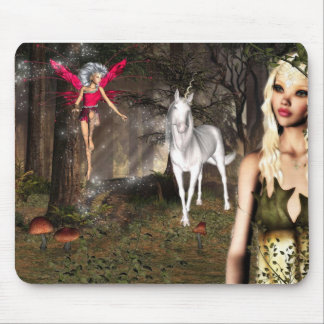 Elf fantasy mouse pad