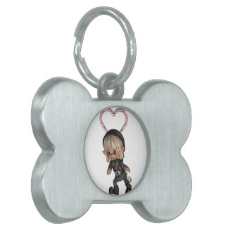 Elf for Christmas Pet Tag