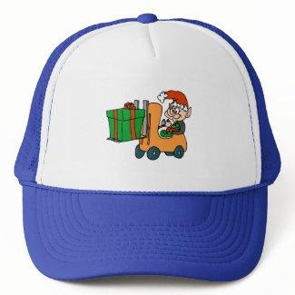 Elf Forklift hat