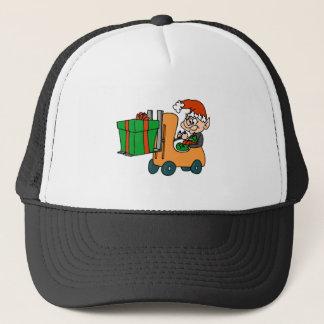 Elf Forklift Trucker Hat