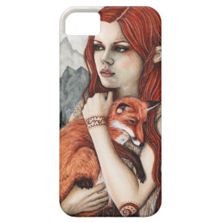 Elf Fox Nature Fantasy Art Phone Case