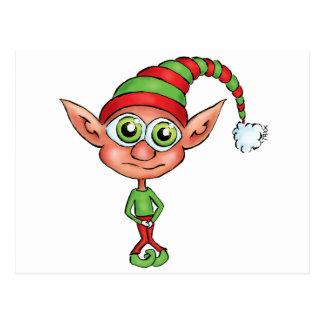 Elf Gotta Pee! Postcard