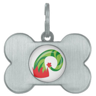 Elf Hat Pet Tag
