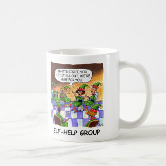 Elf-Help Group Coffee Mug