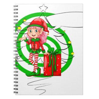 Elf helper notebook