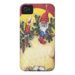 Elf in the Christmas tree iPhone 4 Case
