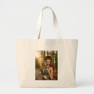 Elf in Woods Canvas Bag