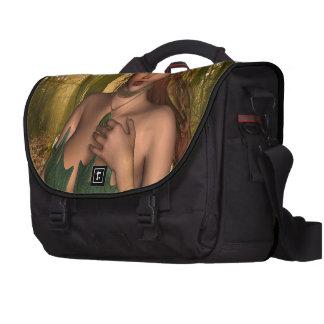 Elf in Woods Computer Bag