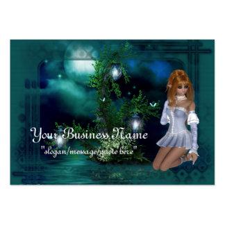 Elf Island Fantasy Business Cards