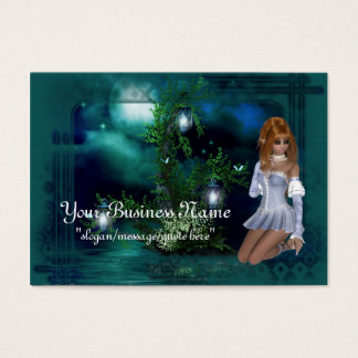 Elf Island Fantasy Business Cards