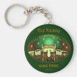 Elf Kilroy Keychain