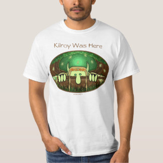 Elf Kilroy White T-Shirt