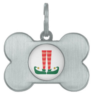 Elf Legs Pet ID Tag