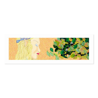 Elf maiden Double-Sided mini business cards (Pack of 20)