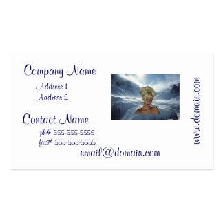 Elf Maiden Business Cards