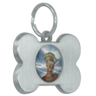 Elf Maiden Dog Tag Pet Tags