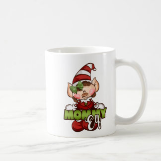Elf Mom - Mommy Elf Coffee Mug