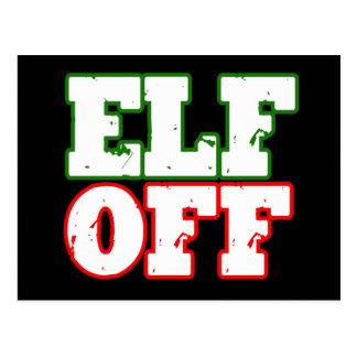 ELF OFF -.png Postcard