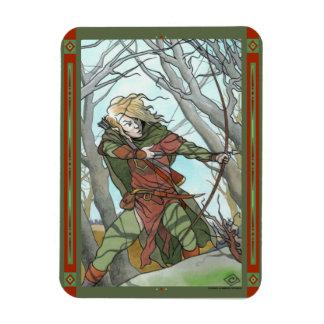 """Elf On The Hunt"" Photo Magnet"