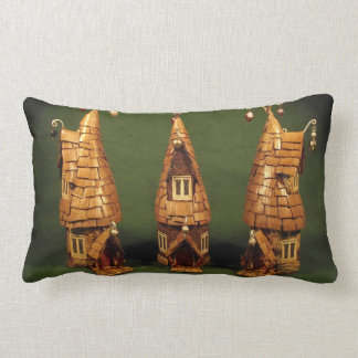 """Elf-ordable Fairy Starter Homes' - Kuriology Lumbar Pillow"