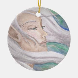 Elf Ornament Fairy Ornament Fantasy Art Ornament