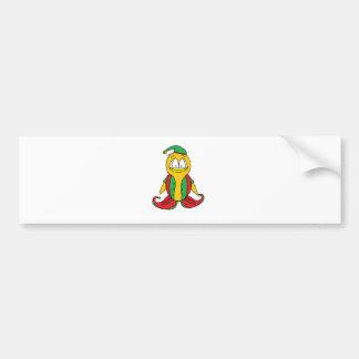 Elf Penguin Bumper Sticker