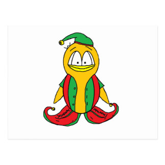 Elf Penguin Postcard
