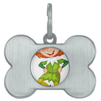 Elf Pet Name Tag