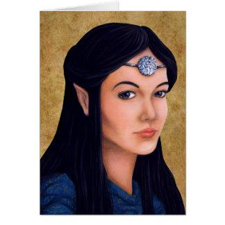 Elf Princess Card