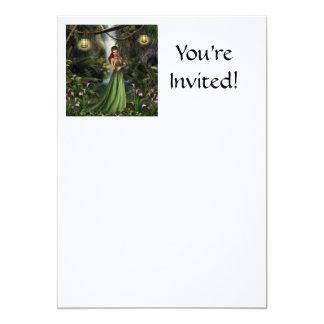 Elf Queen Personalized Announcements