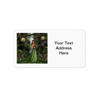 Elf Queen Address Label