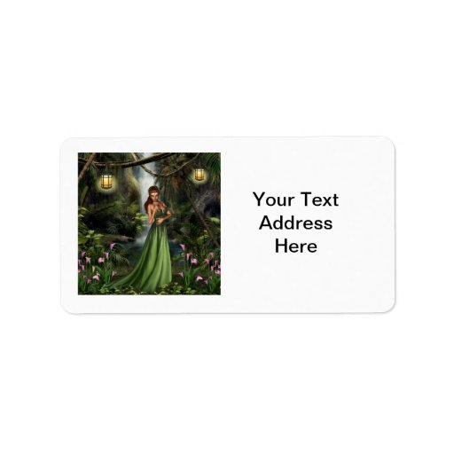 Elf Queen Personalized Address Labels