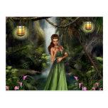 Elf Queen Postcard