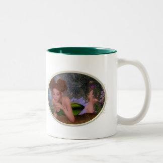 Elf Secrets Two-Tone Coffee Mug