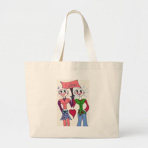 Elf Sisters #2 Jumbo Tote Bag