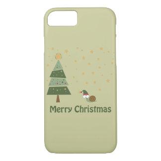 Elf Snail Christmas Scene iPhone 8/7 Case