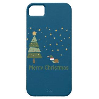 Elf Snail Christmas Scene iPhone SE/5/5s Case