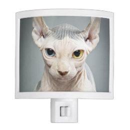 Elf Sphinx Cat Photograph Night Light