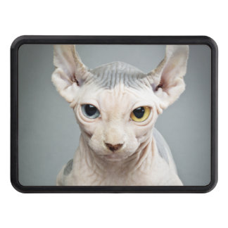 Elf Sphinx Cat Photograph Trailer Hitch Covers