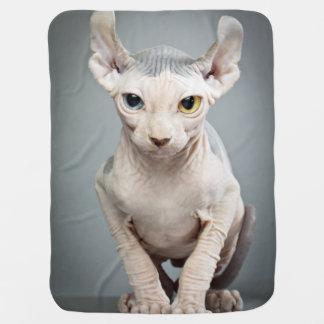 Elf Sphinx Cat Photograph Stroller Blankets