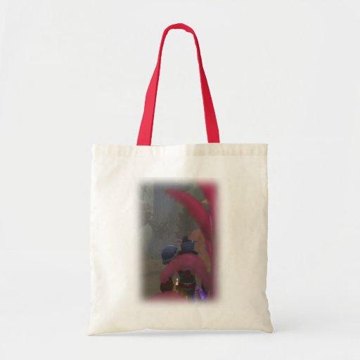 Elf traveller tote bag