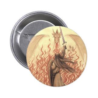 Elf vs Dragon Pins