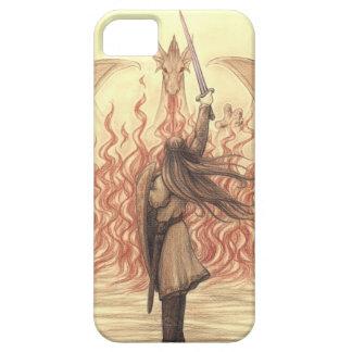 Elf vs Dragon iPhone SE/5/5s Case